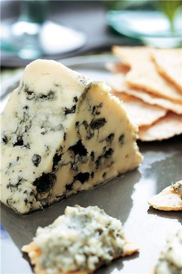 Roquefort!....oh yum!!! This and Stilton are two of the good things in life to eat!           1