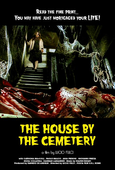 The House by the Cemetery Horror movies, Sci fi horror