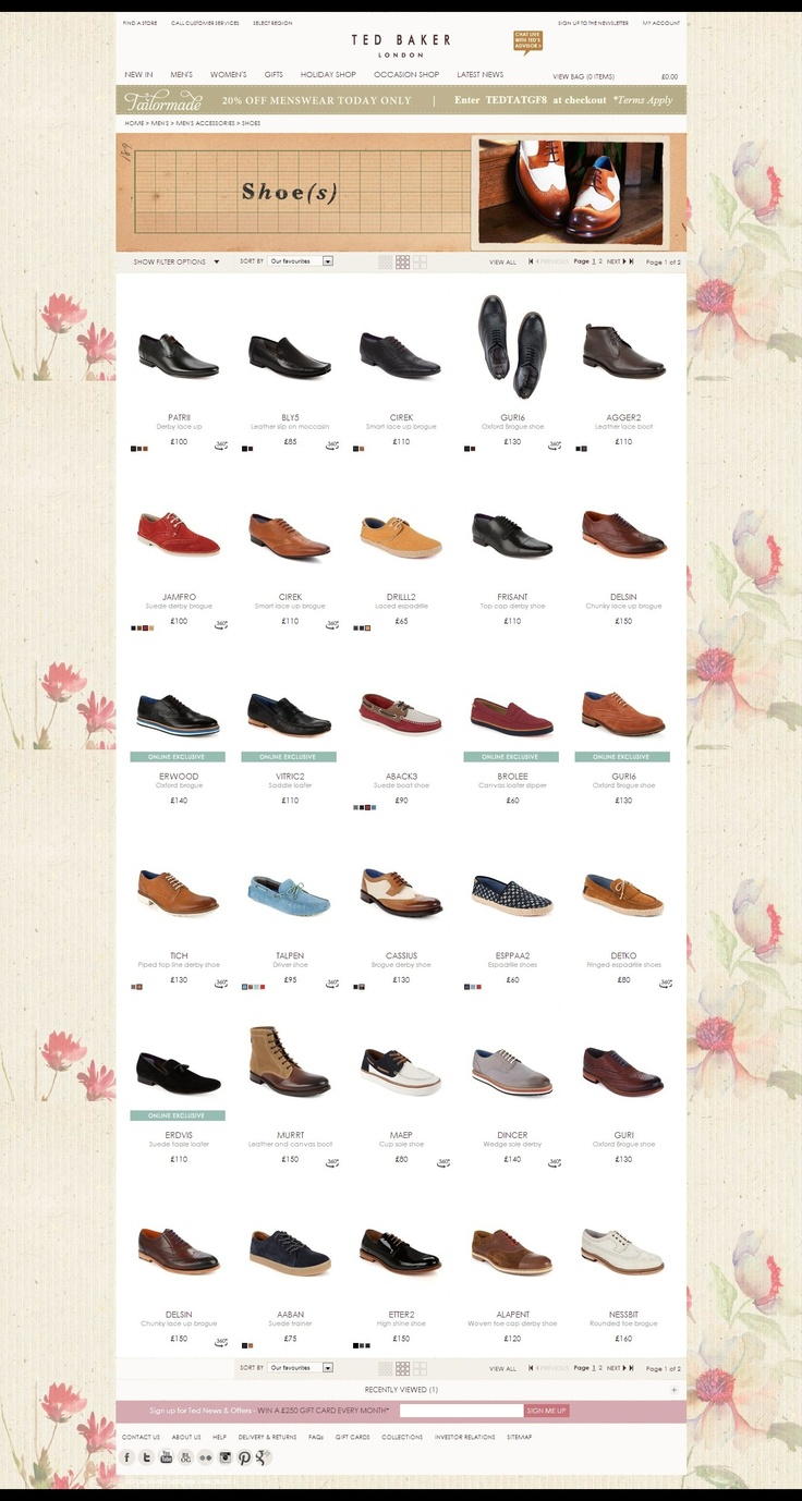 Ted Baker - Shoes