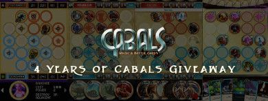 4 Years of Cabals News | Cabals: Magic & Battle Cards