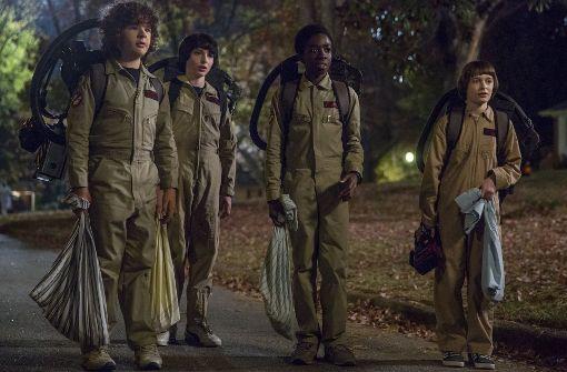 Stranger Things auf Netflix: Trailer zur zweiten Staffel rauscht durchs Netz - Kultur - Stuttgarter Zeitung