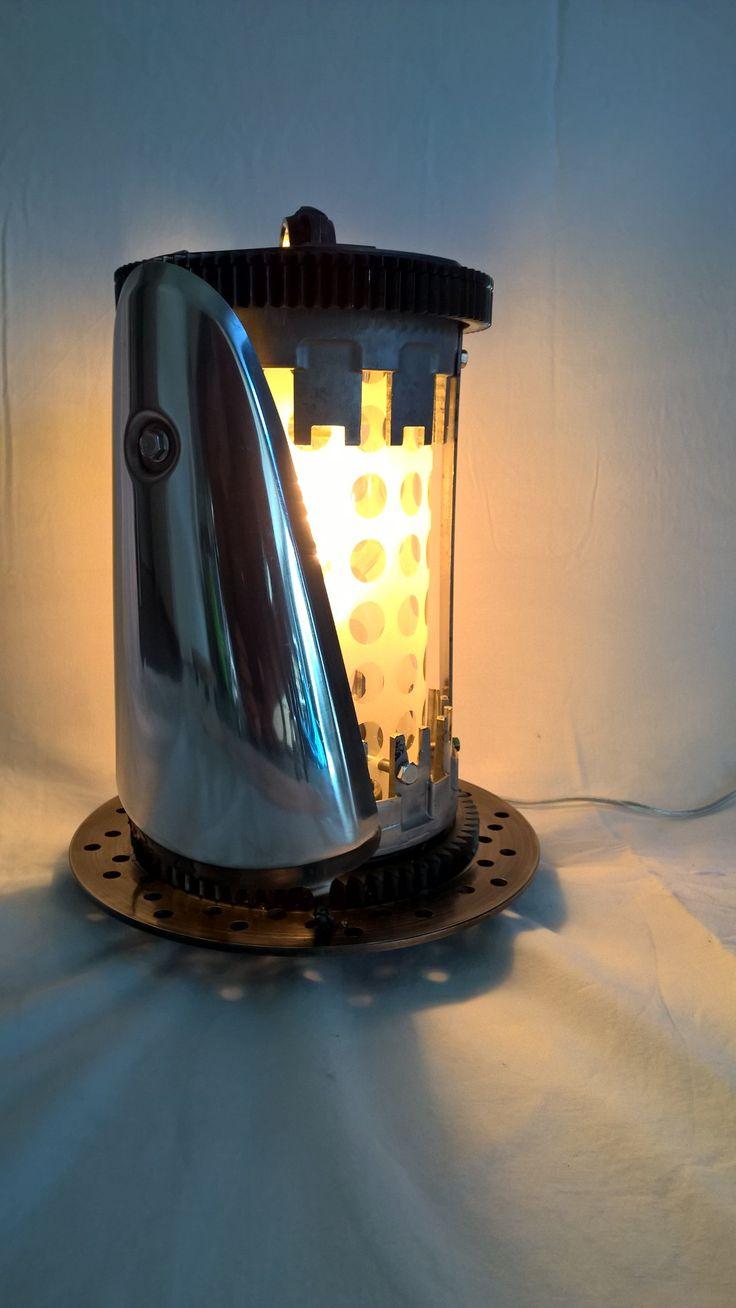 lampe lamp 2 cloches embrayage moto un disque de. Black Bedroom Furniture Sets. Home Design Ideas