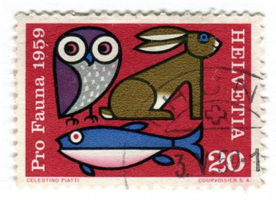forgot where from but love it.Stamps Art, Switzerland Postage, Celestino Piatti, Vintage Stamps, Graphics Design, Swiss Stamps, Stamps Collection, Swiss Design, Postage Stamps