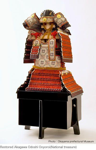 Samurai Armor MORISAKI / Restored Akagawa Odoshi Ooyoroi