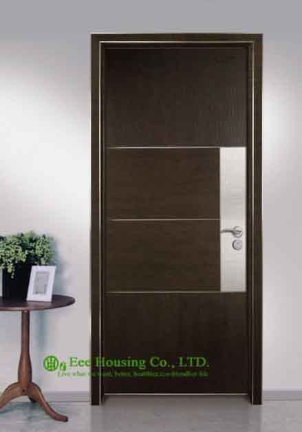 Commerciale ecologico porta interna per la vendita, alluminio porta moderna per il ristorante/hotel progetti