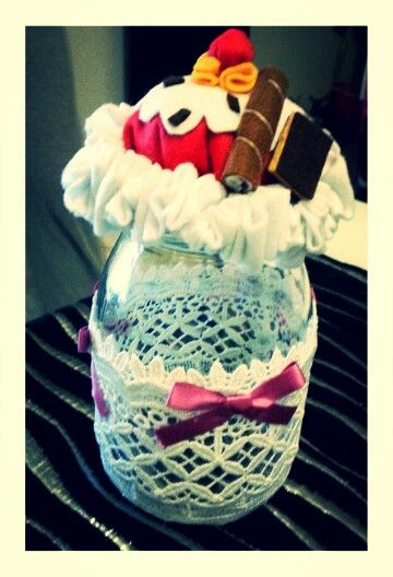 Barattolo cupcake
