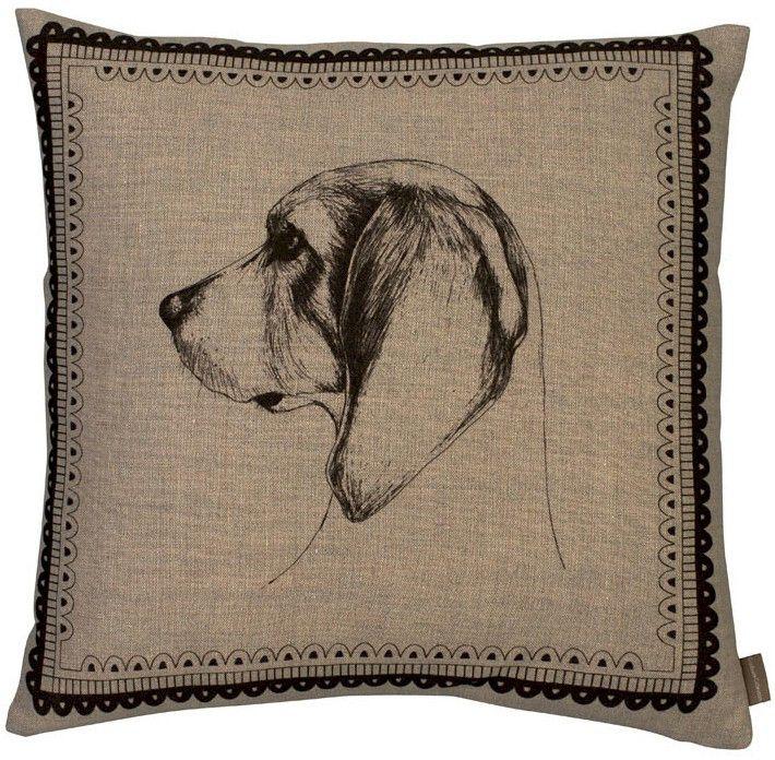 Hand Drawn Dog Cushions
