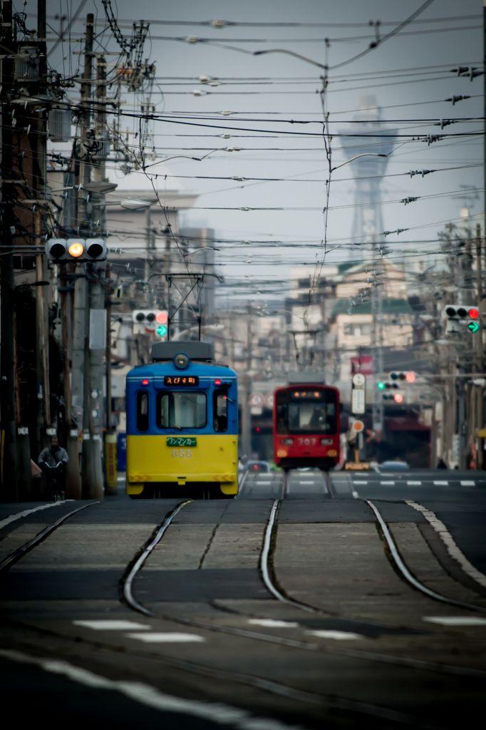 Osaka Tram, Japan
