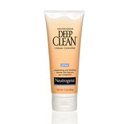 Deep Clean Cream Cleanser works two ways to improve the look and feel of skin.  First, this dermatologist-tested formula cleanses deep down into pores--dissolving dirt, oil and makeup. Then, it removes dead surface skin that can dry, roughen and dull your complexion. It rinses clean, without leaving any pore-clogging residue.Skin looks fresher and healthier, feels cool and refreshed.  ∙ Oil-free ∙ Non-comedogenic (won't clog pores)