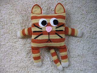 Little Pillow Pal - Cat by Julie Lapalme  pattern $3.00