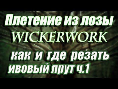 Резка лозы ч.1 братья Коваленко лозоплетение-Cutting vines part 1.brothers Kovalenko - YouTube