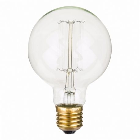 Ispirata alle prime lampade di Thomas Edison, la lampadina Globo di Opjet Paris, crea un'atmosfera magica nella vostra casa, grazie ai filamenti incandescenti che diffondono una luce calda e avvolgente. #lamp #lighting #thomas #edison #vintage