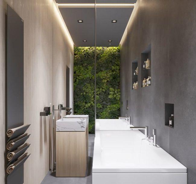 Moderne Indirekte Deckenbeleuchtung Ideen Ambiente Badezimmer Design Trends