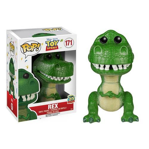 Toy Story 20th Anniversary Rex Pop! Vinyl Figure - Funko - Toy Story - Pop! Vinyl Figures at Entertainment Earth