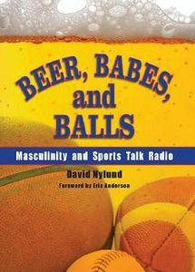 This picture is from a book called beer, babes and balls. This book explores the genre of sports, talk radio, and how it relates to contemporary ideas of masculinity