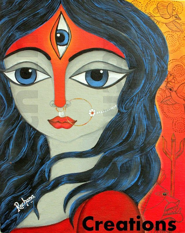 CreationS - The Essene of Arts: Durga : The Goddess of Supreme Power - by Rachana Saurabh