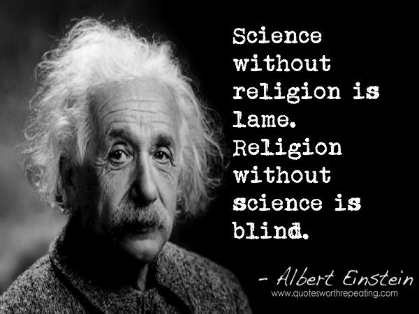 einstein science religion essay Albert einstein's religious views have been widely studied and often  misunderstood einstein  in 1930 einstein published a widely discussed essay  in the new york times magazine about his beliefs with the title  einstein saw  science as an antagonist of the first two styles of religious belief, but as a partner  in the third.