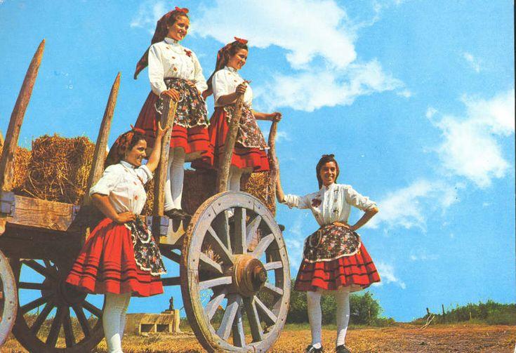 Folclore+Portugal | º 1350/A - RIBATEJO PORTUGAL. Camponeses em traje de festa ...
