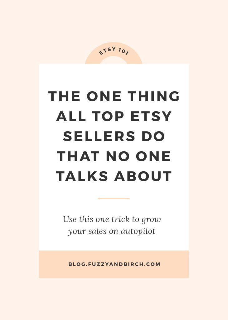 """The one thing all top Etsy Sellers do that no one talks about - My job is a little weird. As an Etsy Business Coach, I basically listen to super talented people tell me all the reasons they can't manage to make money. And the #1 complaint I hear all the time? """"Why the HELL is everyone and their mother making a million sales on Etsy, and I've got NOTHING??? My product is better, my photographs are awesome, my SEO is perfect! What the F*CK gives???"""" -- find out what you need to do to shift…"""