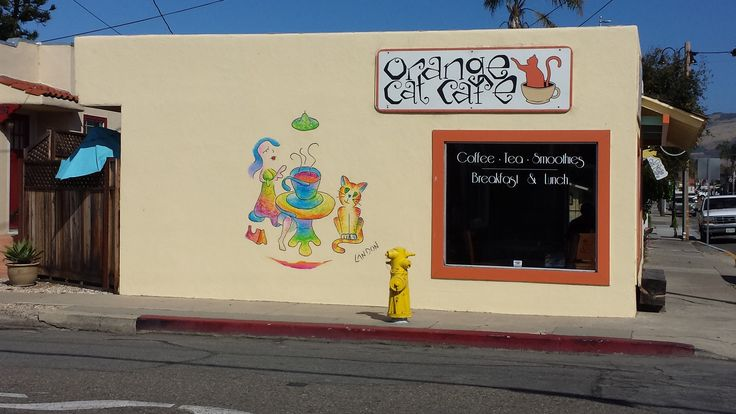 Orange Cat Cafe Pismo Beach Ca