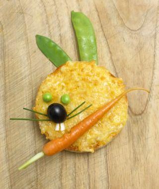 Kid-friendly vegetable snack: 'Welsh Rabbits'