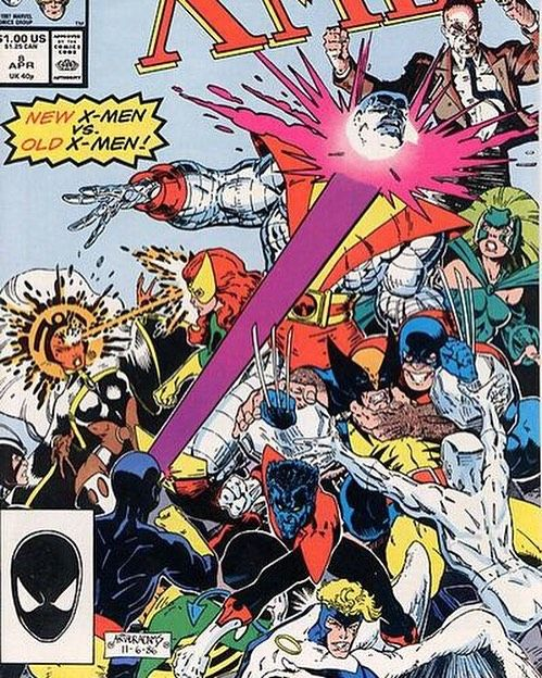 This Is The First Issue Of Classic X Men That I Purchased At A Comic Book Store When Was Kid Reprint 100 Uncanny Artist Art Adam