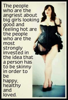 Plus Size Confidence