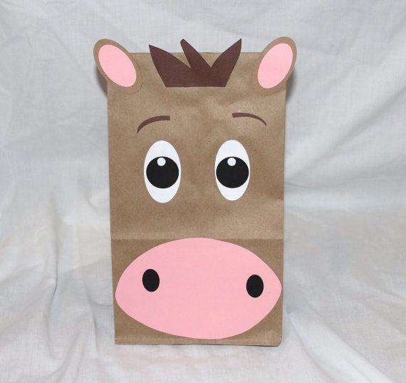 Farm Barnyard Animal Party Favors Kids by CherishedBlessings