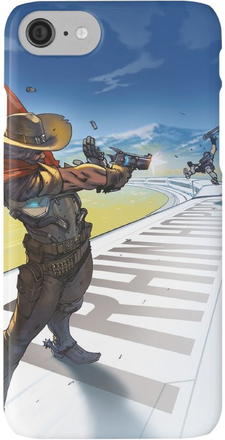 Overwatch | McCree | Phone cases by gamevault