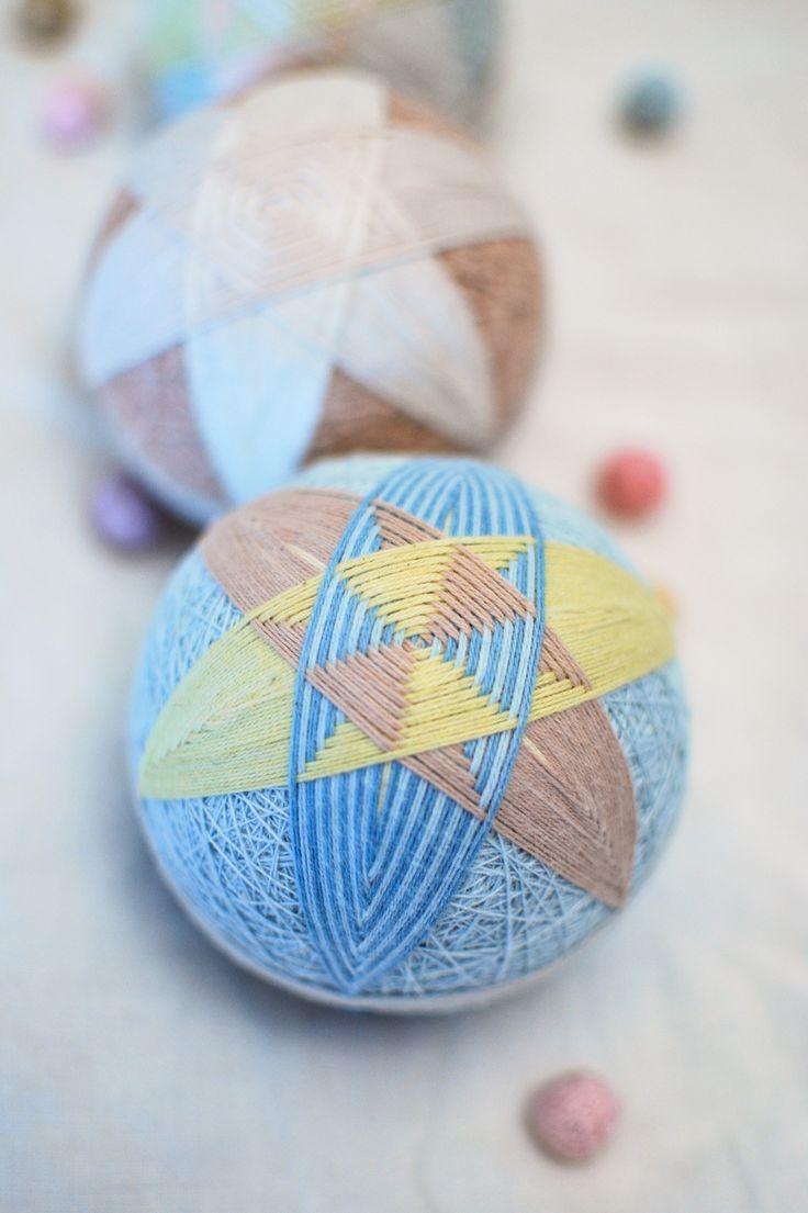 Temari by Temaricious or DIY Kit: Light blue