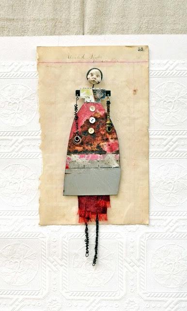 The Tinker's Shop - amazing assemblage art dolls by Carla Trujillo