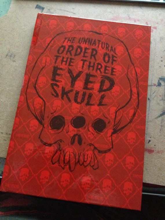 The Unnatural Order of the Three Eyed Skull Art of by Monstarshop, $20.00