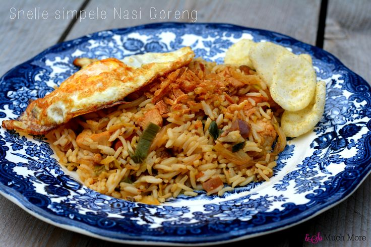 Snelle simpele nasi goreng // Food & So Much More