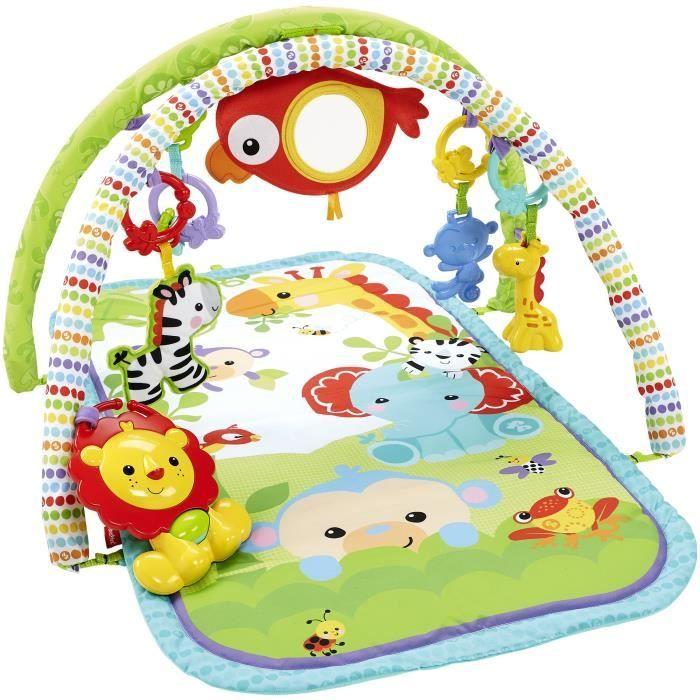 FISHER-PRICE Tapis amis de la jungle 3 en 1 - Achat / Vente tapis éveil - aire bébé 0887961086157 - Cdiscount