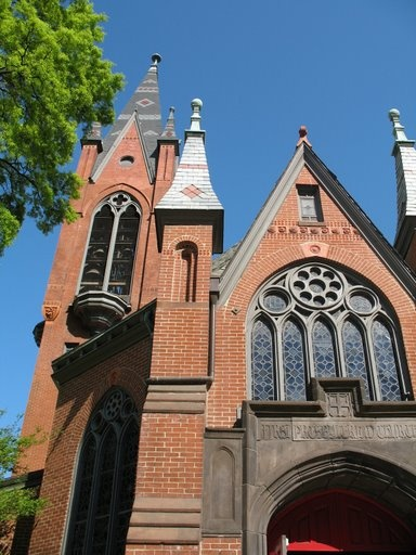 First Presbyterian Church, USA, Birmingham, Alabama. An amazing Victorian building and continuing in worship. Possibly my second favorite church building in Birmingham, Alabama.