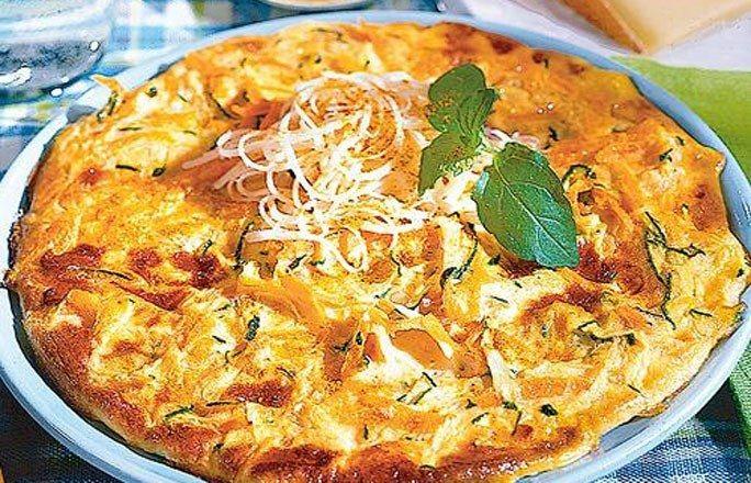 Curry-Käse-Omelett - Kohlenhydratfreie Rezepte: Fleisch, Fisch & Co.