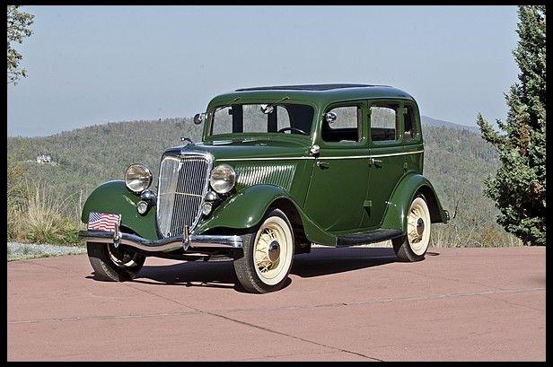 1934 Ford Fordor Sedan Ford Motor Company Dearborn