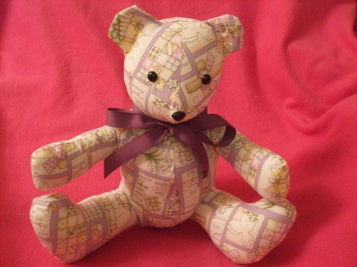 Religious Themed Easter Stuffed Teddy Bear