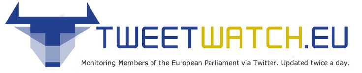 Tweetwatch.eu monitoring members of the European Parliament via Twitter.