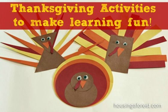 135 best fall crafts for toddlers images on pinterest for Pre k thanksgiving crafts