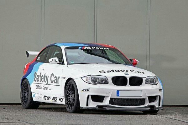 BMW 1M Safety car