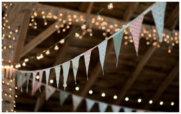 cafe lights barn wedding | Wedding Guide Venues Rustic Wedding Guide Catering Rustic Wedding ...