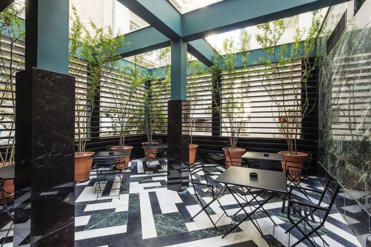 Pick a table! #DesignCorner #AthenWas #ModernRestaurant #AthensHotels