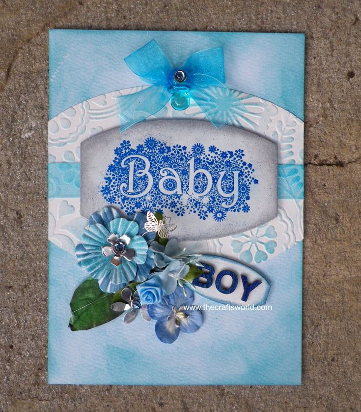 Greeting card – baby boy
