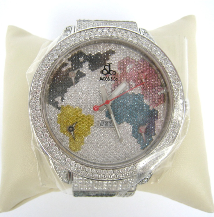 Jacob & CO - the whole world 'can' fit in a watch