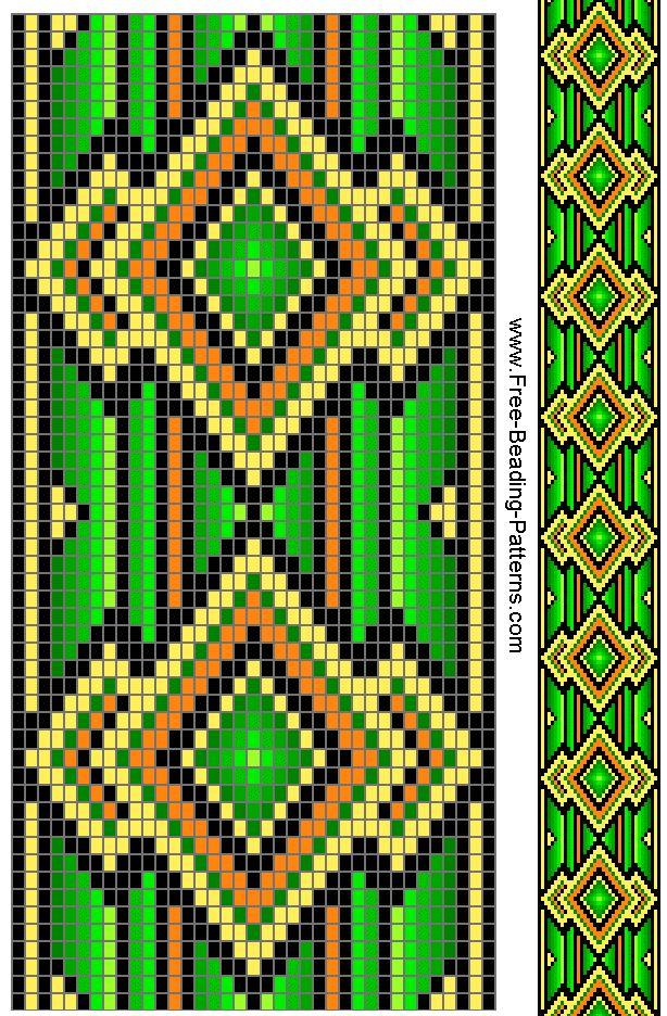 284 Best Bead Loom Pattern Images On Pinterest Arm