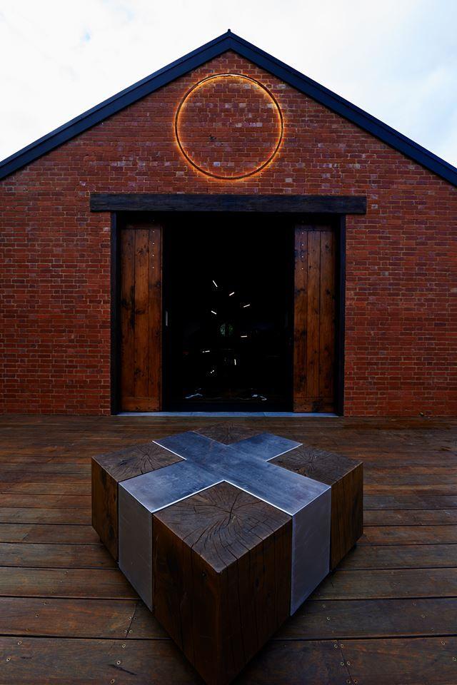 Kenney Pierce Timber -Barn Style Doors made by Kenney Pierce Timber, Recycled Timbers supplied for projekt3488, Warburton - visit them on facebook: https://www.facebook.com/projekt3488