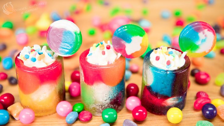 How to Make Candy Cups with Skittles Soda (candy shot glass, jolly rancher shot glass)