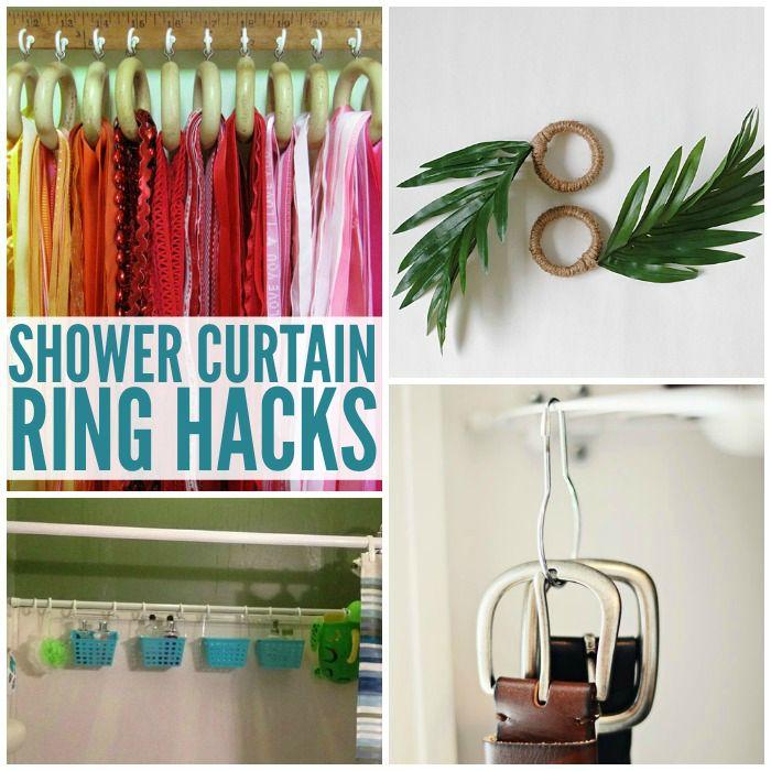 Best 25+ Shower curtain rings ideas on Pinterest | Shower curtain ...