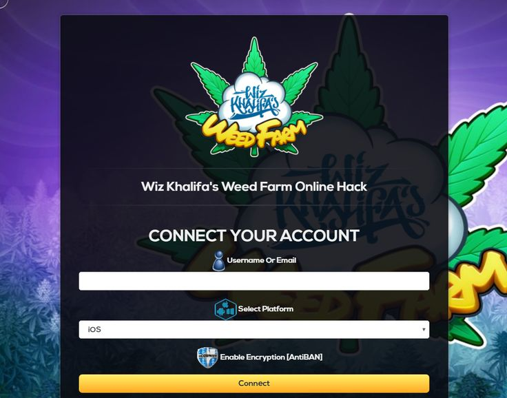Wiz Khalifa's Weed Farm Hack and Cheats for iOS and Android